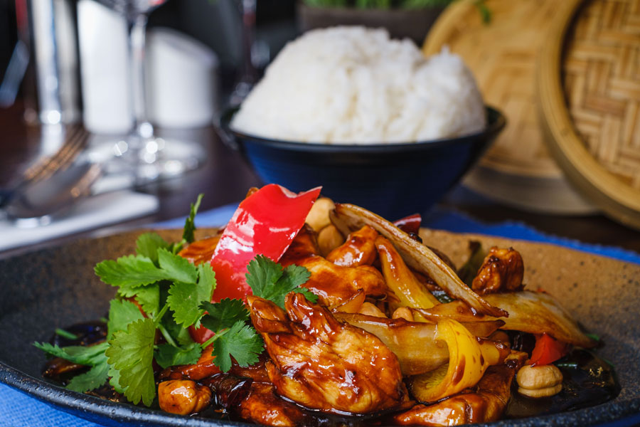 Chicken Cashew Nuts Malaysian Style