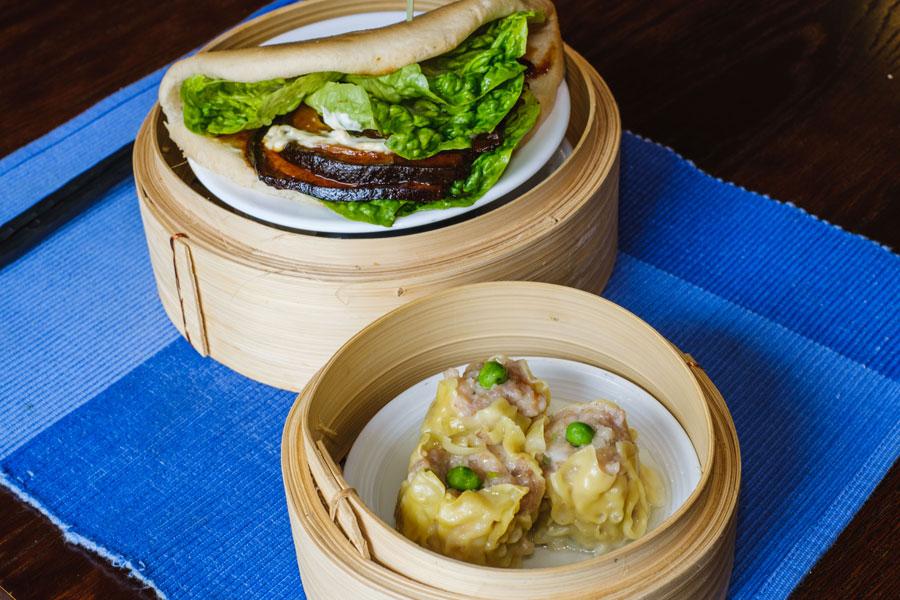Malaysian Dim Sum Pork Belly Bun