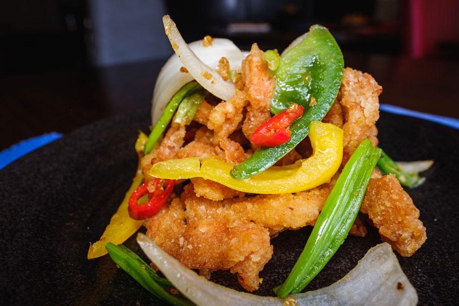 Malaysian Fusion Crispy Spicy Shredded Chicken