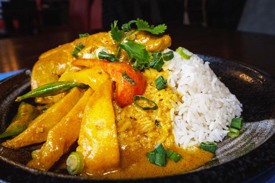 Malaysian Nyonya Chicken Curry