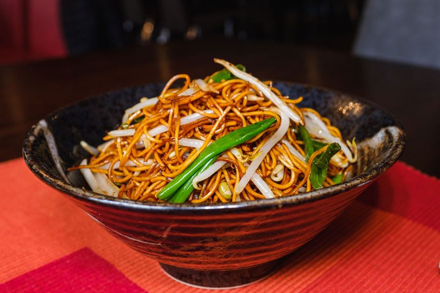 Malaysian Style Fried Noodles