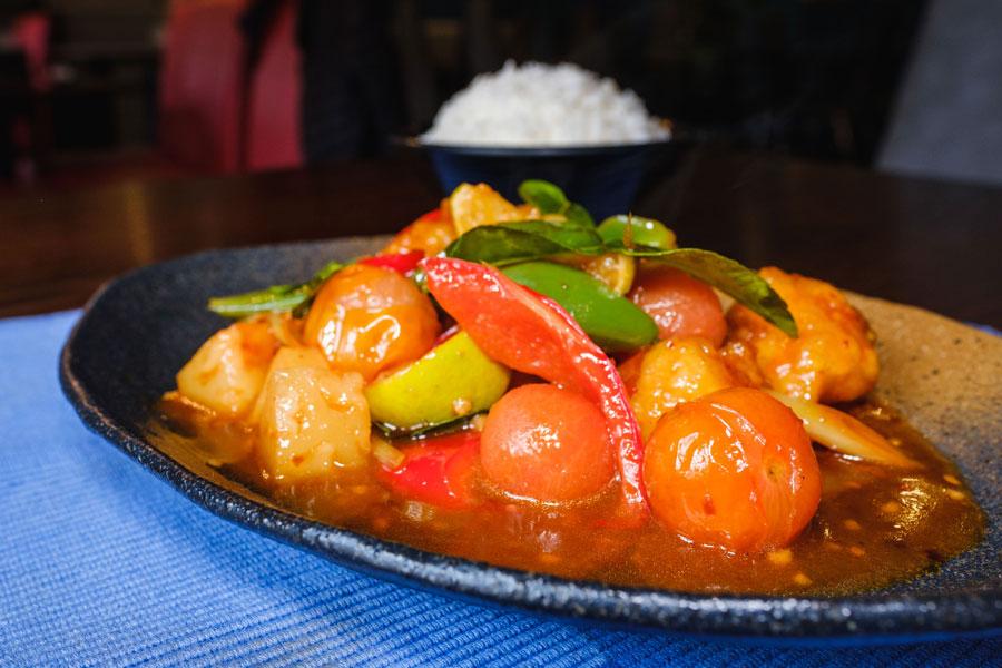 Malaysian Thai Cuisine-thai Spicy Tomatoes Chicken