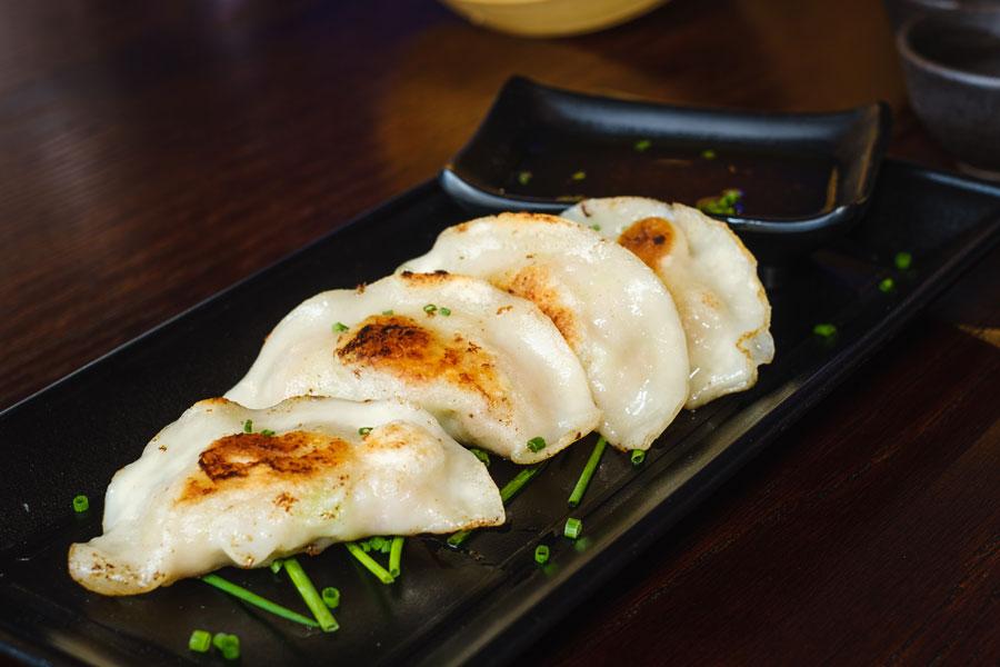 Pan Fried Japanese Dumplings Gyoza