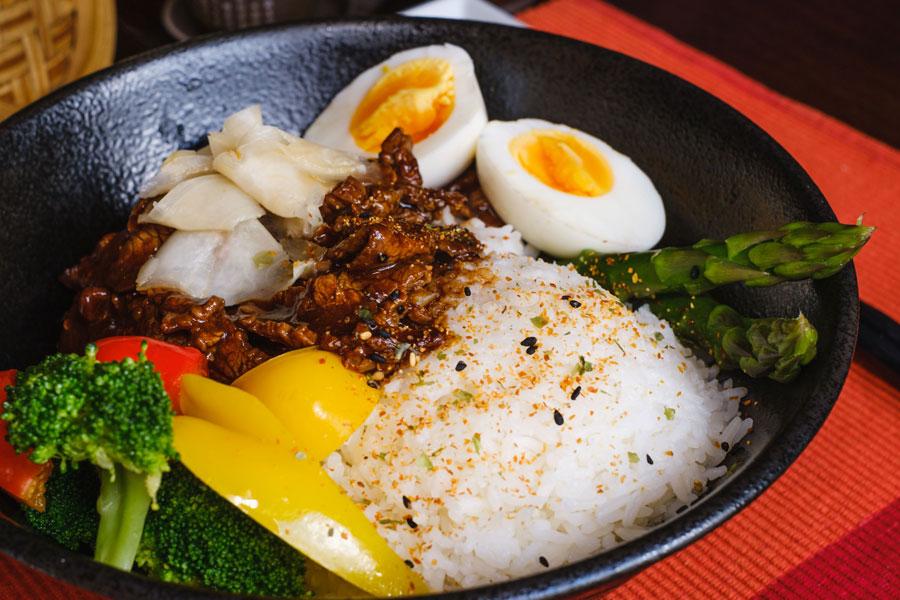 Teriyaki Beef Rice Bowl